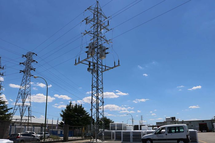 Torre alta tension